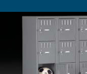 Box Gym Lockers  Made In USA