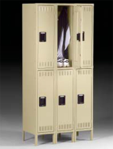 Double Tier Lockers