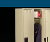 Single Tier Gym Lockers  Made In USA