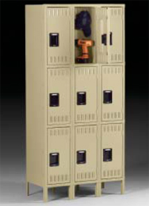 Triple Tier Gym Lockers