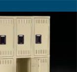 Triple Tier Gym Lockers  Made In USA