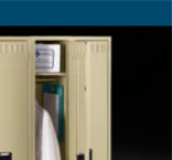 Two Tier Gym Lockers  Made In USA